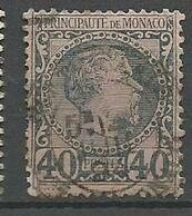MONACO N° 7 Réparé Angle Gauche OBL - Monaco