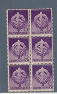 GERMANIA REICH DEUTSCHLAND GERMANY1942 GTA SPORTIVA  S:A Mi 818  SESTINA  MNH** - Unused Stamps