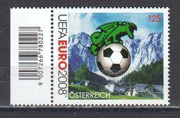 Austria 2008 - Footbal-EM (IX), Mi-Nr. 2724, MNH** - 2001-10 Unused Stamps