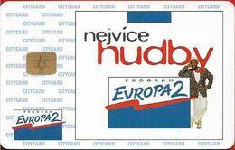 Czech Rep. - City Cards - Nejvice Hudby, 08.1995, 100Kč, 10.000ex, Used - Tsjechië
