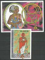 2 Pcs SOMALIA - MNH - Art - Arabic Modern Jewellery - Exbition - Otros