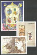 3 Pcs SOMALIA - MNH - Animals - Birds - Art - Otros