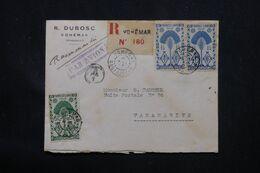 MADAGASCAR - Enveloppe En Recommandé De Vohemar Pour Tananarive En 1945 Par Avion - L 69093 - Covers & Documents