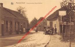 MEERSEL-DREEF - Grensscheiding Belgie-Holland - Douane Belge - Hoogstraten