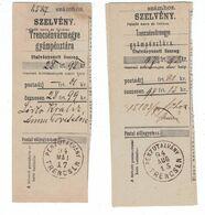 Trencsén Penzutalvany 1995 - Einzahlungsschein - Cartas