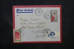 MADAGASCAR - Aérogramme De Fianarantsoa Pour La France En 1946 - L 69099 - Covers & Documents