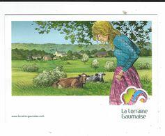 Carte Pub Lorraine Gaumaise Illustrateur Jean Claude Servais  Neuve TBE - Otros Ilustradores