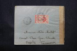 MADAGASCAR - Enveloppe De Tamatave Pour Tananarive En 1944 Avec Contrôle Postal - L 69101 - Covers & Documents