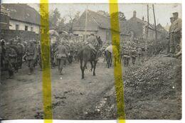 80 SOMME VILLERS FAUCON Arrond. PERONNE  CARTE PHOTO ALLEMANDE MILITARIA 1914/1918 WK1 WW1 - Sonstige Gemeinden