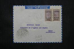 NIGER - Enveloppe En 1944 Pour Dakar Avec Cachet De Contrôle - L 69110 - Lettres & Documents