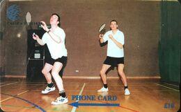 FALKLAND  -  Badminton  -  Cable & Wireless  -  £ 10 - Islas Malvinas