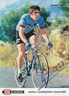CARTE CYCLISME MARINO BASSO TEAM SALVARANI 1972 FORMAT 13 X 18 - Ciclismo