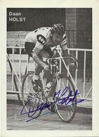 CARTE CYCLISME DAN HLST SIGNEE TEAM NOVY 1972 - Wielrennen