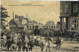 410-Gare De Sourbrodt -Déchagement De L'Artillerie Pour Le Camp D'Elsenborn - Waimes - Weismes