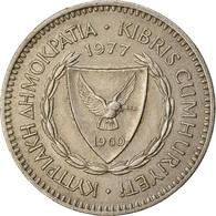 Monnaie, Chypre, 50 Mils, 1977, TTB, Copper-nickel, KM:41 - Cipro