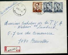 Doc. De WOLUWE - A 7 A - Du 11/12/70  En Rec. ( E ) - Marcophilie