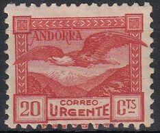 ANDORRA ESPAÑOLA 1935-1943 Nº 44 NUEVO - Ungebraucht