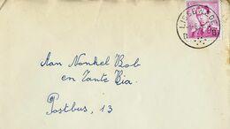 Doc. De LISSEWEGE - B B - Du 01/06/63 - Marcophilie