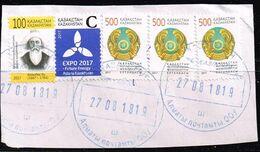 Kasachstan 2011/17,Michel# 723, 1012, 1015 O - Kazakhstan
