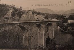 38 ISERE - Dauphiné Route De Clelles à Mens - Le Pont De Sandon - Otros Municipios
