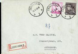 Doc. De ZEDELGEM - A 2 A - Du 13/05/66  En Rec. - Marcophilie