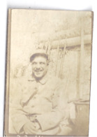 """""""TRANCHEES DE SILLERY  LE 22/8/1915""""  écrit Au Dos    PHOTO SEPIA - Personnes Anonymes"""
