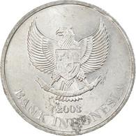 Monnaie, Indonésie, 500 Rupiah, Undated (2003), Perum Peruri, TTB, Aluminium - Indonesia