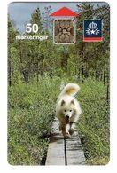 Sweden  - SWE 009  - Samojed Dog - Hund - Control Number : 36428 - Schweden