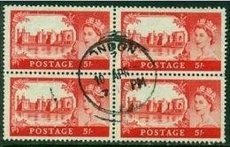 "-GB-1959-""5 Shilling Block"" (o) - Usados"