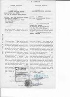 Pouvoir Représentation établi Par Société LANCOME SA (PARIS) En 1978 Au Dr LOREDO, LIMA (PEROU) Avec Timbre Sec Fiscal - Fiscali