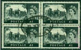 """-GB-1959-"""" 1 Pound Sterling, Block"""" (o) - Usados"""