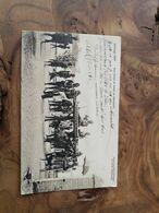 357/umangi 1901 Une Visite De Noces En Planquin - Belgisch-Kongo - Sonstige