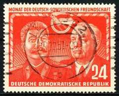 DDR 1951 Nr 297 Zentrisch Gestempelt X5EF6BE - [6] República Democrática