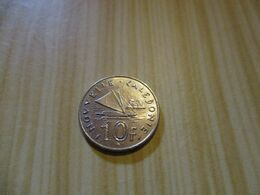 Nouvelle-Calédonie - 10 Francs 1983 .N°291. - New Caledonia