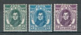 Irland 1929 O'Connell Michel 52 - 54 Postfrisch MNH - 1922-37 Stato Libero D'Irlanda