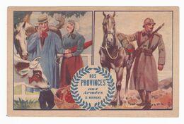 Carte Postale En Franchise Militaire - Nos Provinces Aux Armées - Le Normand - Military Service Stampless