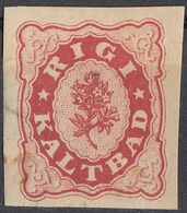 HELVETIA - SUISSE - SVIZZERA - 1864/1866 - RIGI KALTBAD, Emissione Pubblicitaria Di Un Hotel (vedi Descr.) - Suiza