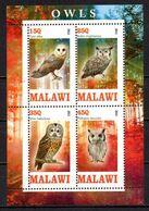 BIRDS OWLS SOUVENIR SHEET MNH ** - Hiboux & Chouettes
