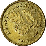 Monnaie, Croatie, 5 Lipa, 1997, TTB, Brass Plated Steel, KM:5 - Croazia