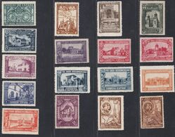 1930. * Edifil: 566/82. PRO UNION IBEROAMERICANA - 1889-1931 Königreich: Alphonse XIII.