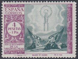 1940. ** Edifil: 901. VIRGEN DEL PILAR - 1931-Heute: 2. Rep. - ... Juan Carlos I