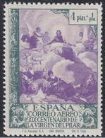 1940. * Edifil: 912cc. VIRGEN DEL PILAR AEREO-COLOR CAMBIADO - 1931-Heute: 2. Rep. - ... Juan Carlos I