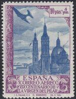 1940. * Edifil: 913cc. VIRGEN DEL PILAR-COLOR CAMBIADO - 1931-Heute: 2. Rep. - ... Juan Carlos I