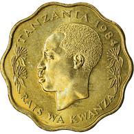 Monnaie, Tanzania, 10 Senti, 1984, TTB, Nickel-brass, KM:11 - Tanzanie