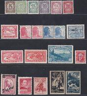 1934-38. * 2ª REPUBLICA. Lote De Doce Series Completas - 1931-Heute: 2. Rep. - ... Juan Carlos I