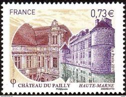 France N° 5120 ** Château Du Pailly (Haute-Marne) - Ungebraucht