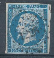 N°14 VARIETE POSTFS. - 1853-1860 Napoleone III