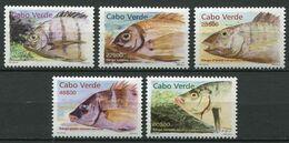 273 - CAP VERT 2003 - Yvert 764/68 - Tete De Poisson - Neuf ** (MNH) Sans Trace De Charniere - Kap Verde