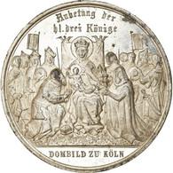 Allemagne, Médaille, Der Dom Zu Köln, Anbetung Der Drei Könige, 1880 - Allemagne