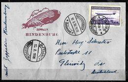 819 - LIECHTENSTEIN - 1936 - ZEPPELIN POST - COVER - FORGERY - FAUX - FAKE - FALSE - FALSCH - Non Classificati